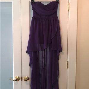 ASOS Strapless High-low Dress